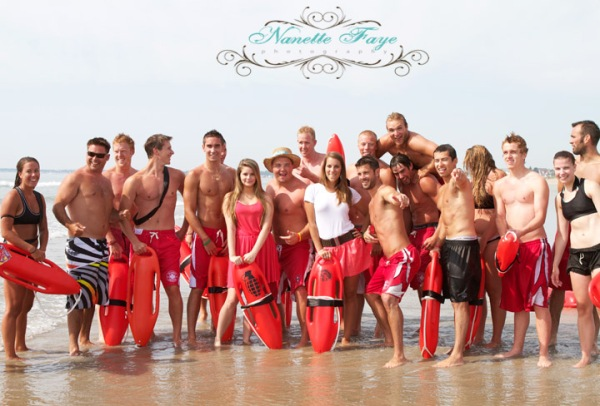 LIfe Guards on Old Orchard Beach
