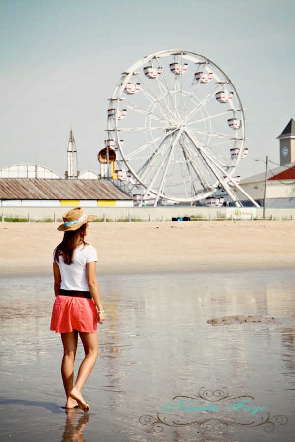 Old Orchard Beach, Maine retro