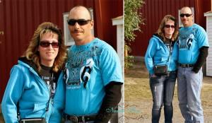 couple at Maine county fair