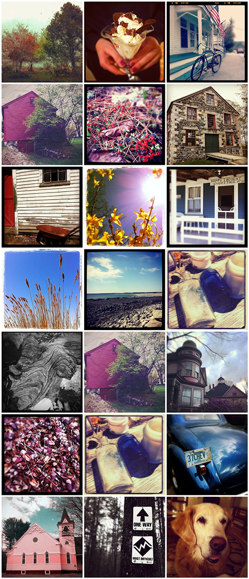 Instagram, iPhone, iPhoneography, mosaic, Maine, Nanette Faye Photography