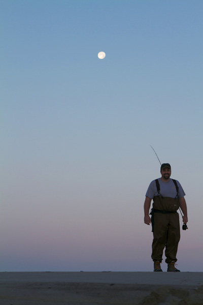 fisherman, Maine fisherman, Maine, sunrise, moonshine, moonlight, Maine coast, ocean, Higgins Beach, Nanette Faye Photography