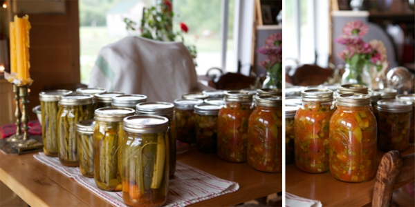 preserves, canning, Maine, Northern Maine, vegies, antique, kitchen, photography, Nanette Faye Photography