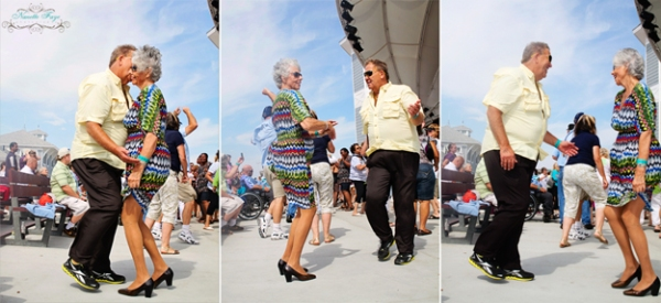 Hampton Seafood Festival, Hampton Beach, NH, New Hampshire, older couple, dancing, Nanette Faye Photography
