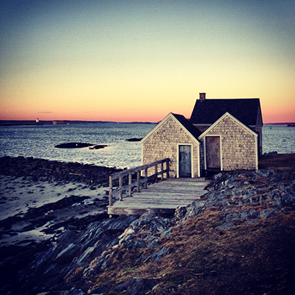 Maine, Maine photographer, ocean, shack, Nanette Faye Photography, Willard Beach