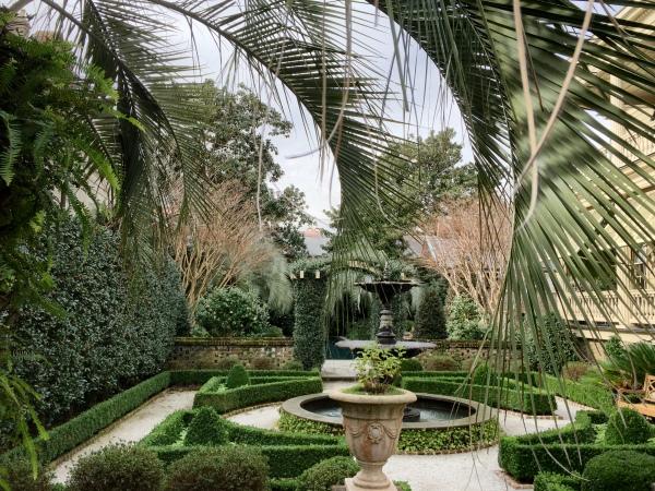 Charleston city garden
